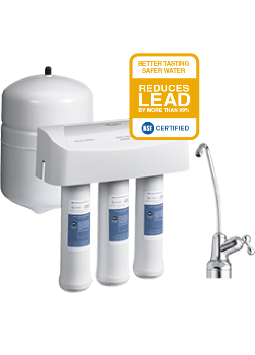 Reverse Osmosis Home Water Filtration System Whirlpool