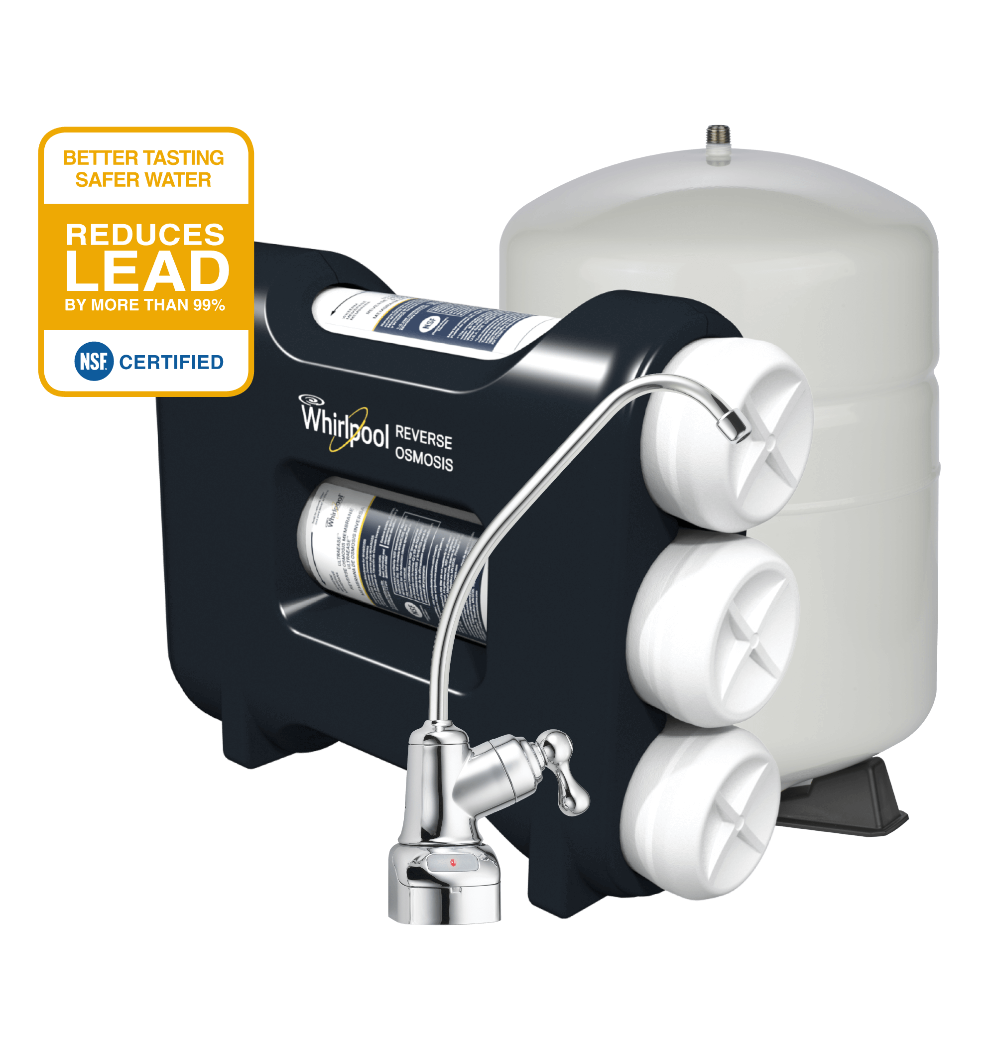 Reverse Osmosis Home Water Filtration System | Whirlpool