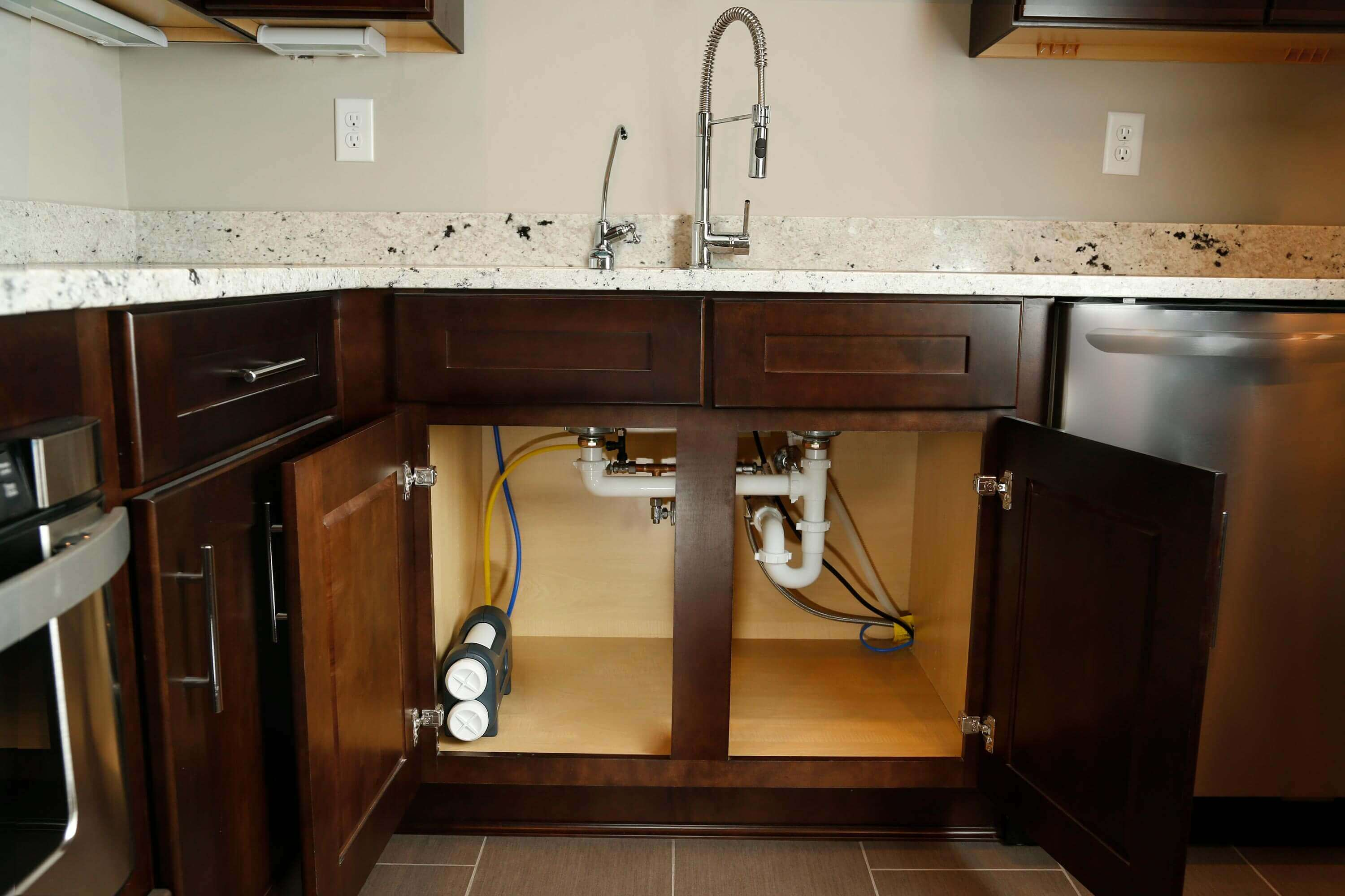 Under Sink Filter Systems Under Sink Dual Stage Water Filtration System Whirlpool