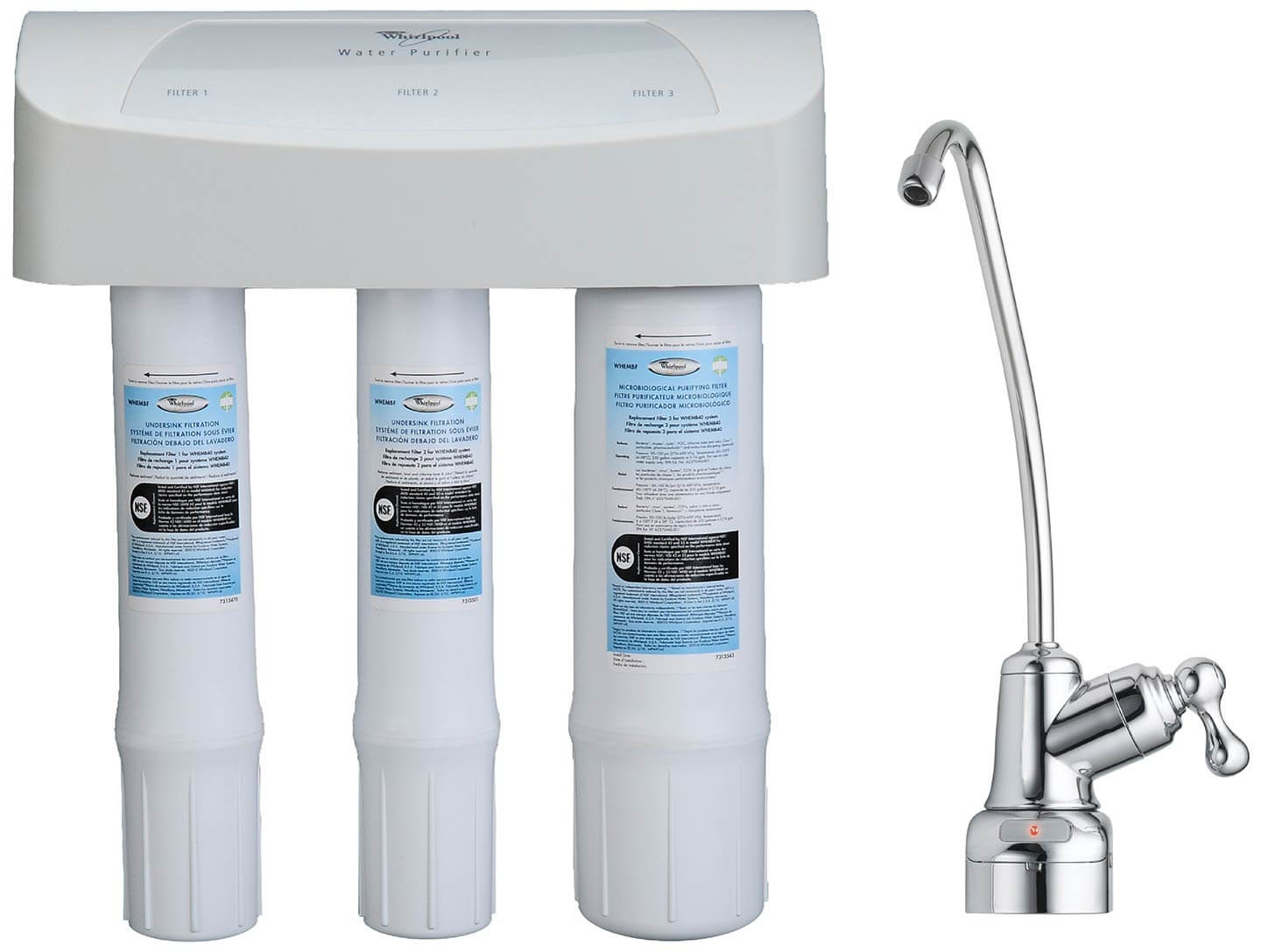 Water Purifier Replacement Filter Set Whembf Whirlpool