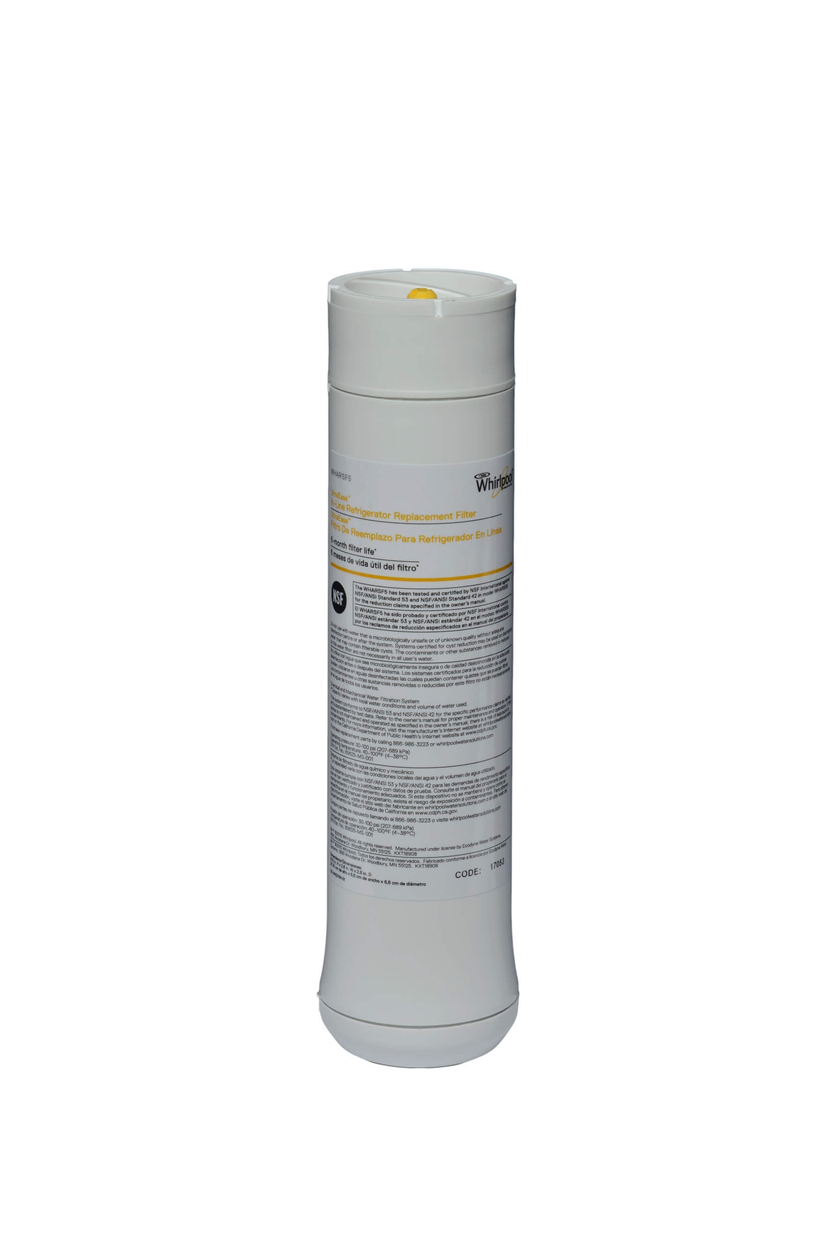 In-Line Refrigerator Replacement Water Filter | Whirlpool